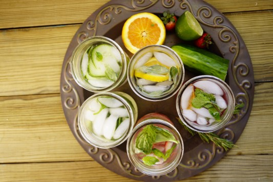 Healthy Drinks-Flavored Water