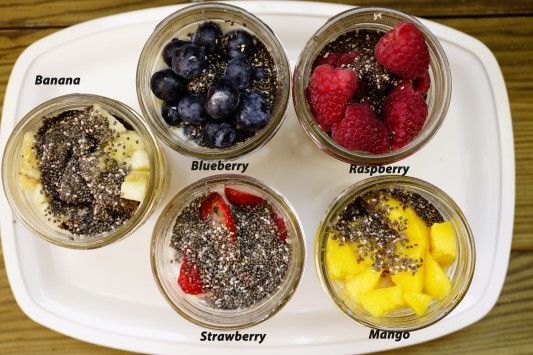 Easy and on the go breakfast- Overnight oatmeal