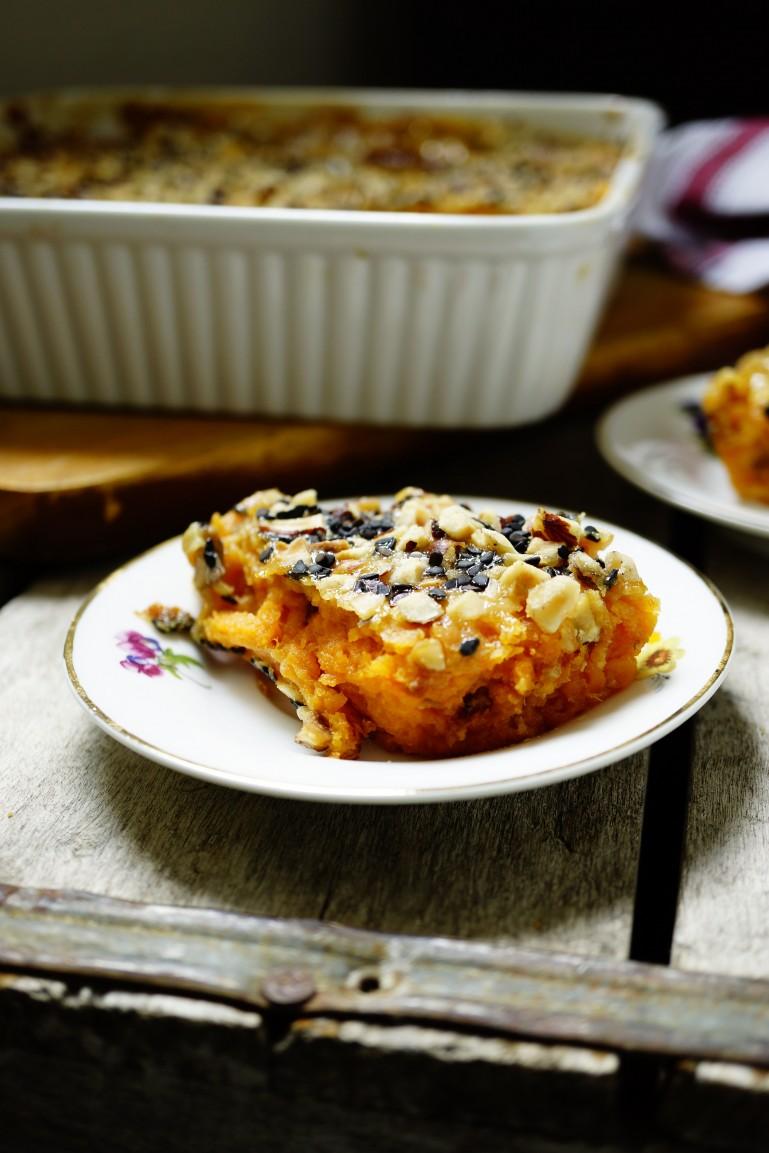 Dinner Idea - Sweet potato Casserole