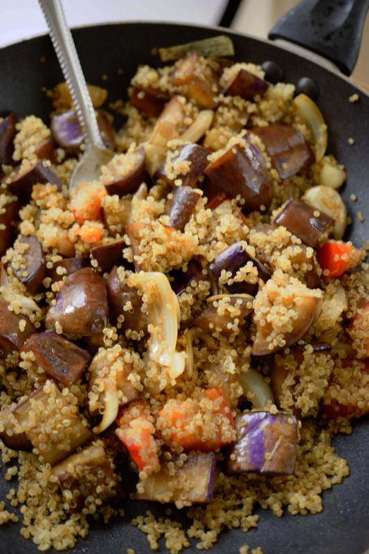 Quinoa is even called super food since it is packed of protein