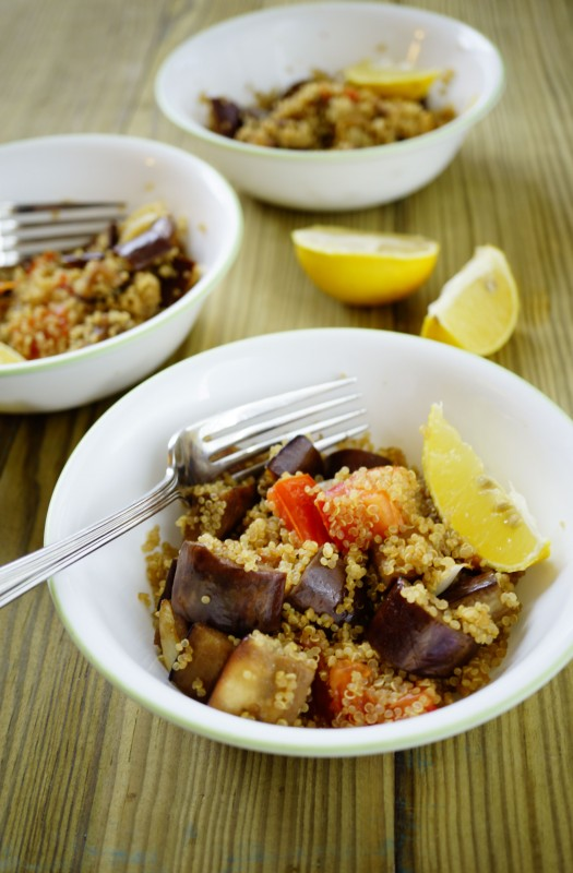 Quinoa is also gluten free and is considered easy to digest