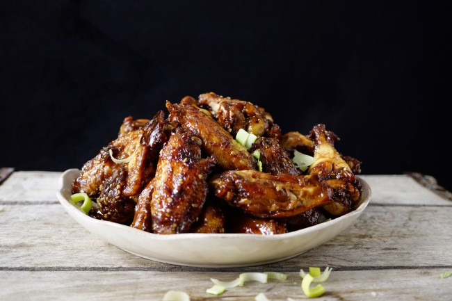 Chicken Wings Recipe-sticky and freeze able, easy and really taste great