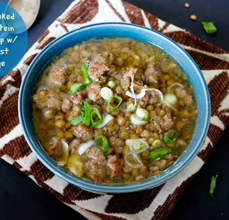 Ideal High Protein Food - High Protein Lentil Soup