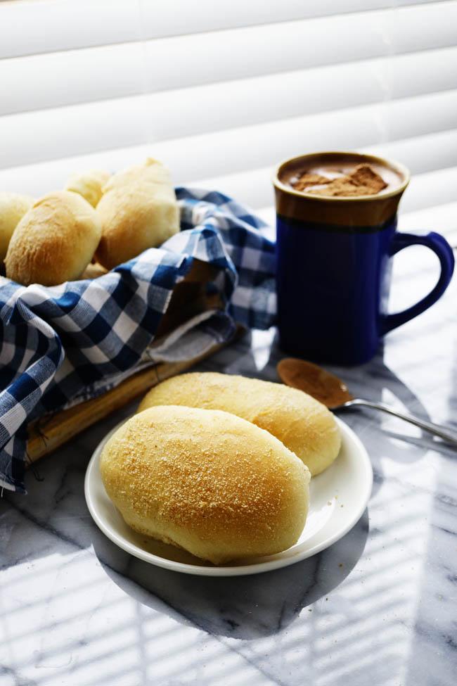 I am preparing my Filipino breakfast tradition - Pandesa
