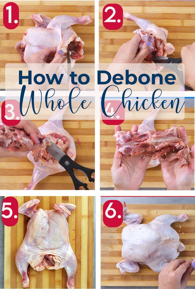 Step By Step Guide to Debone Chicken for Rellenong Manok