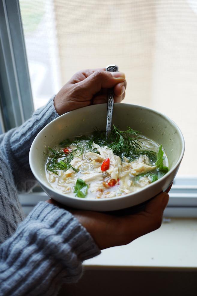 Left-Over Turkey Noodle Soup