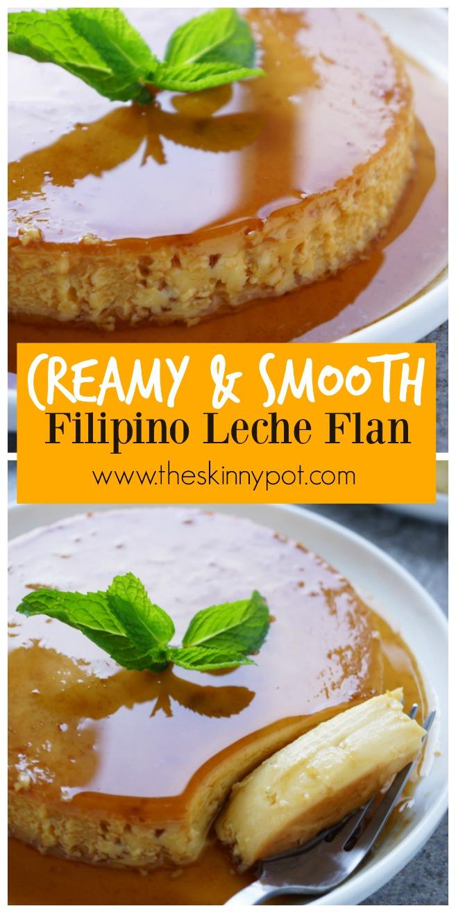 3 Ingredient No Bubbles Filipino Leche Flan