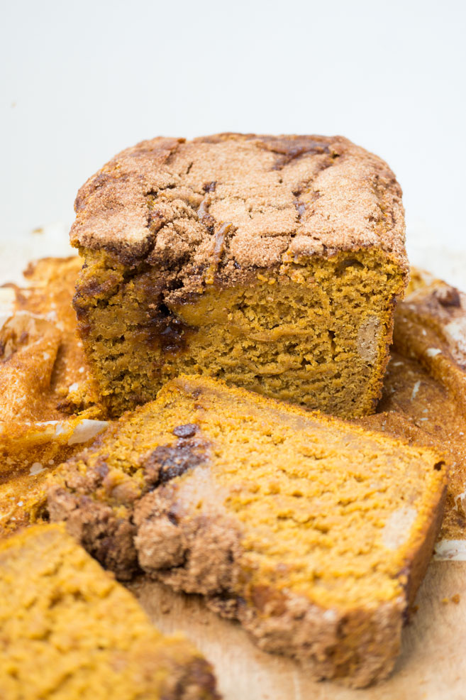 Super Moist Pumpkin Bread is in the house today. I am celebrating Thanksgiving Day with this Pumpkin bread.