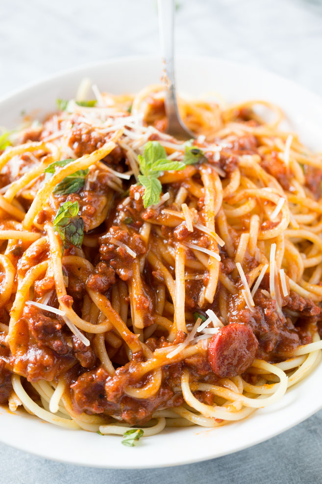 spaghetti sauce recipe indian style