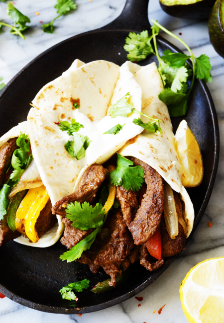 Easy and Quick 30 Minute Beef Fajita