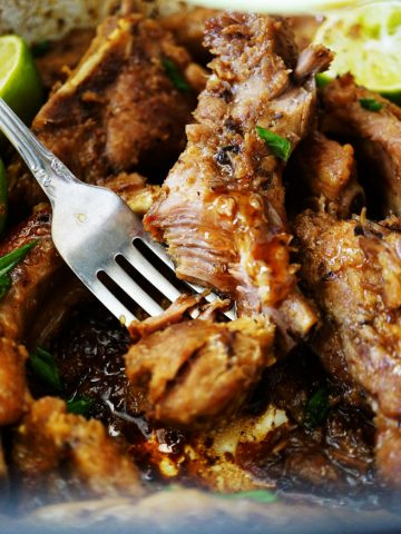 Best-Ever Sticky Slow Cooked Asian Ribs