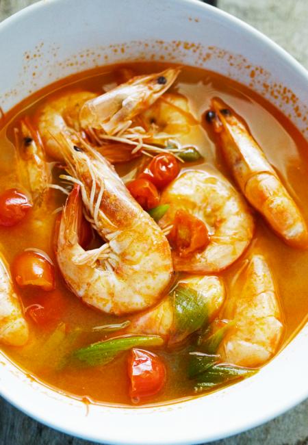Sinigang na Hipon- Shrimp in Sour Soup