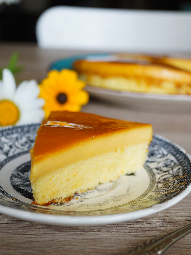 Custard Powder Cake Recipe
