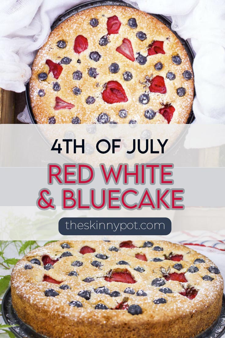Red White and Blue Cake for the 4th of July dessert. The Holiday is going to get busy. You need this simple recipe for 4th of July dessert
