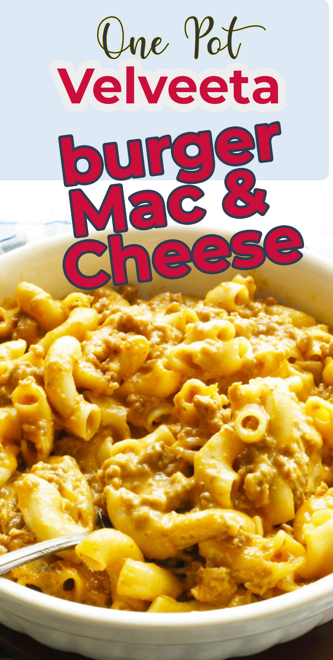 one pot stove top dinner velveeta mac and cheese