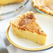 """How to make Egg Pie? Egg pie is a favorite Filipino dessert which are often sold in Filipino bakery. Egg Pie is a Filipino counterpart of Egg Custard, although I find some differences in its sweetness and texture. To me, Filipino Egg Pie is sweeter, firmer, it is also """"eggy"""" in taste and the texture is more defined compared to the one I tried here in the US. Also, there is no cream nor any nutmeg added in this Egg pie."""