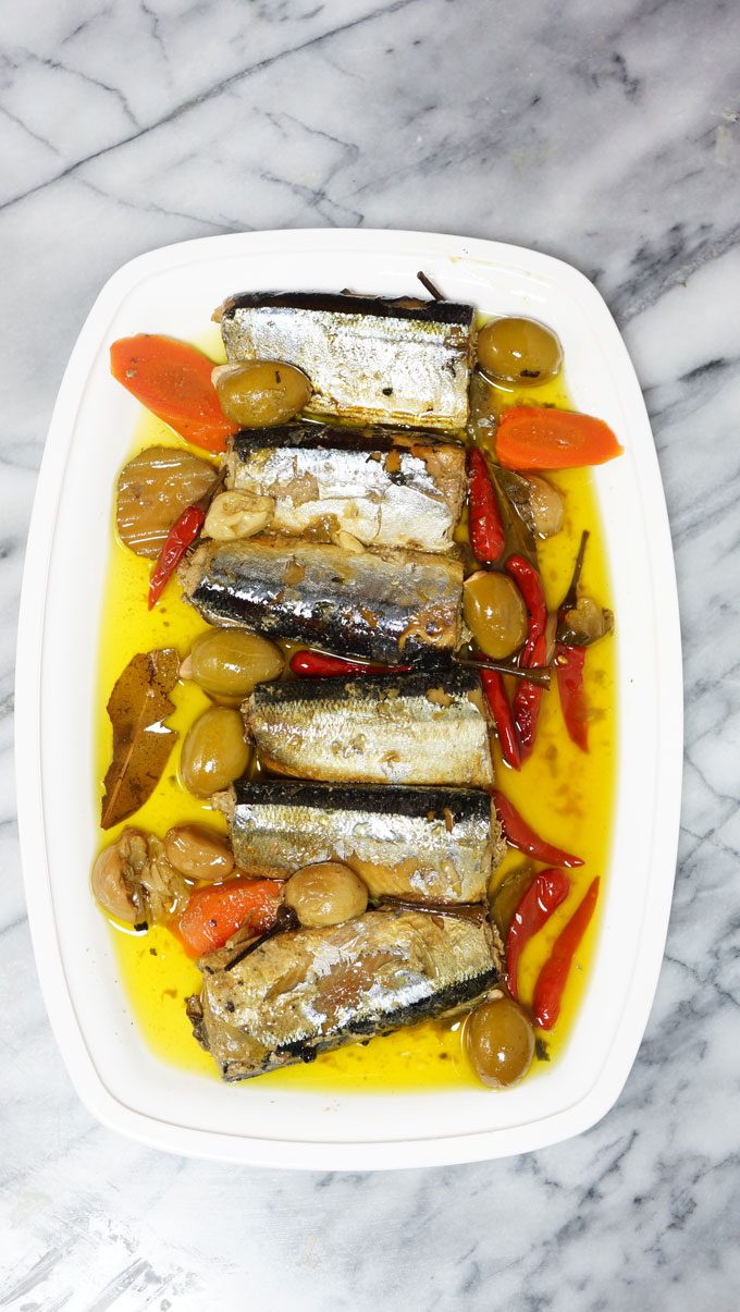 SPANISH SARDINES HOMEMADE SLOW COOKED