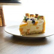This Mango Cheesecake can be your project this week. You will learn how to make Lady Finger and your own whipped cream too.