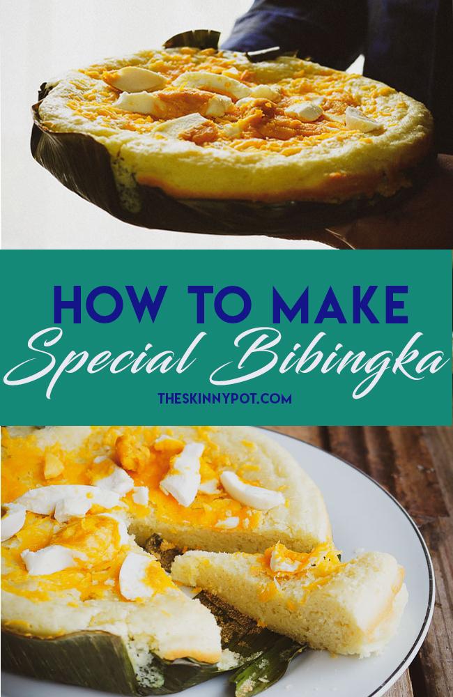 HOW TO MAKE SPECIAL BIBINGKA