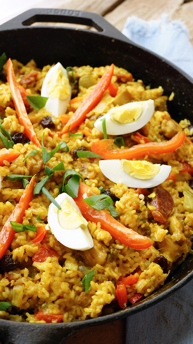 Simple Ways To Cook Arroz Valenciana The Skinny Pot