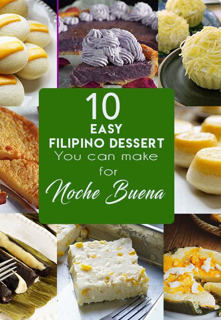 10 EASY FILIPINO DESSERT YOU CAN MAKE FOR NOCHE BUENA