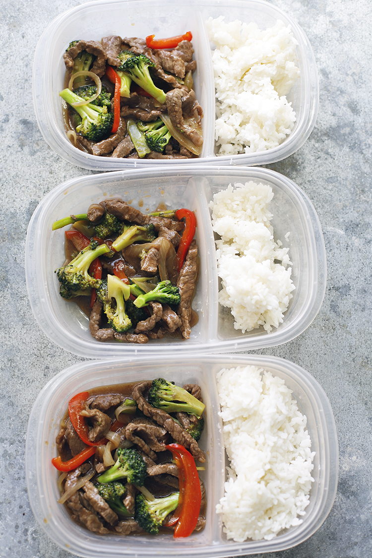 FILIPINO MEAL PREP: BEEF BROCCOLI/www.theskinnypot.com