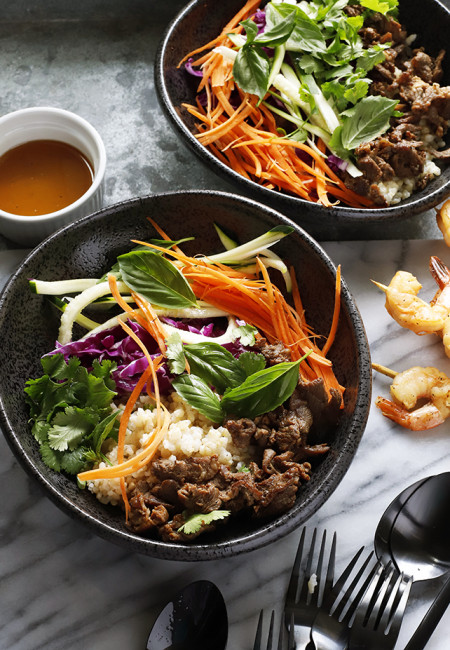 KOREAN BEEF BOWL MEAL PREP WITH BROWN RICE