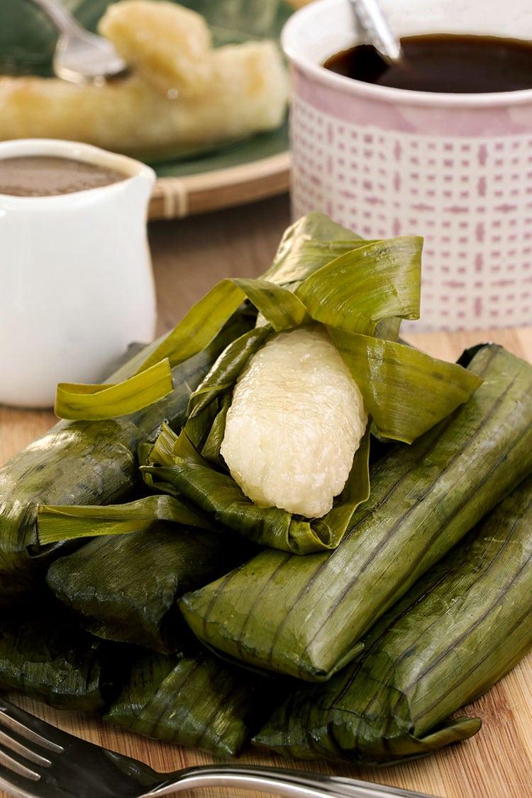 Easy Suman Recipe finish product
