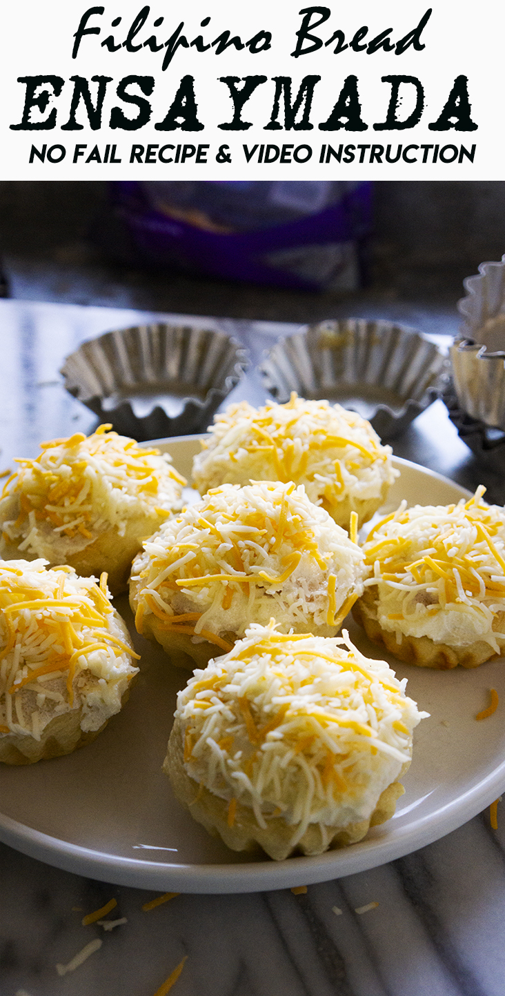 ENSAYMADA RECIPE : A FILIPINO BREAD ENSAYMADA RECIPE THAT'S NO FAIL AND EASY