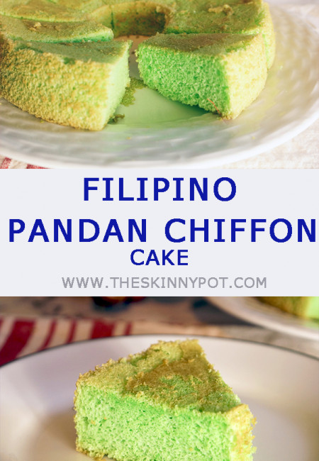 This is an Easy Pandan Chiffon Cake Recipe that yields a spongy, fluffy and soft Pandan Chiffon Cake in no time. The prep time is quick and easy. Ingredients are easily available, and the Pandan flavor is made from scratch.
