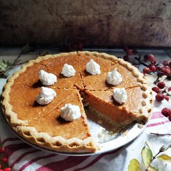 This Easy Sweet Potato Pie Recipe will yield a gently sweet and firm filling. The filling is not runny nor soggy and it freezes well too. It is not too sweet, and really delicious. This is a keeper.
