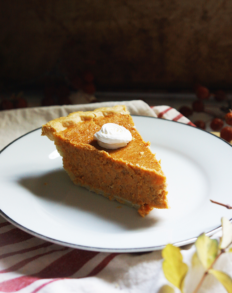 This Easy Sweet Potato Pie Recipe will yield a gently sweet and firm filling. The filling is not runny nor soggy and it freezes well too.