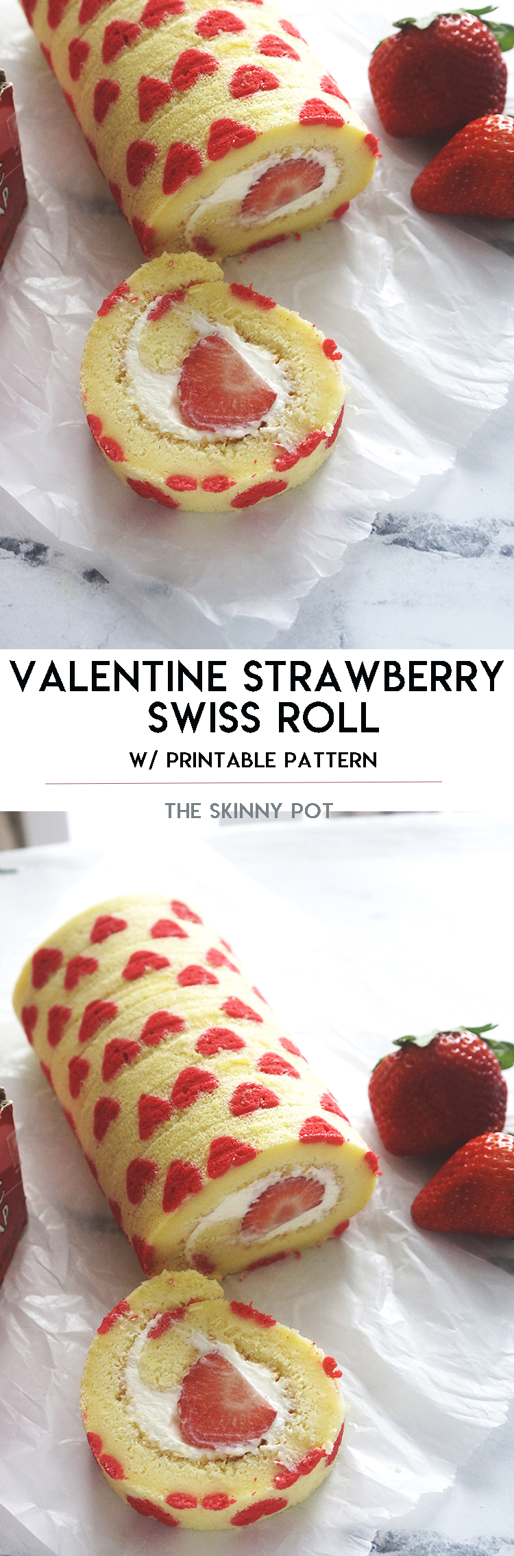 Best Swiss Roll recipe with BONUS printable pattern