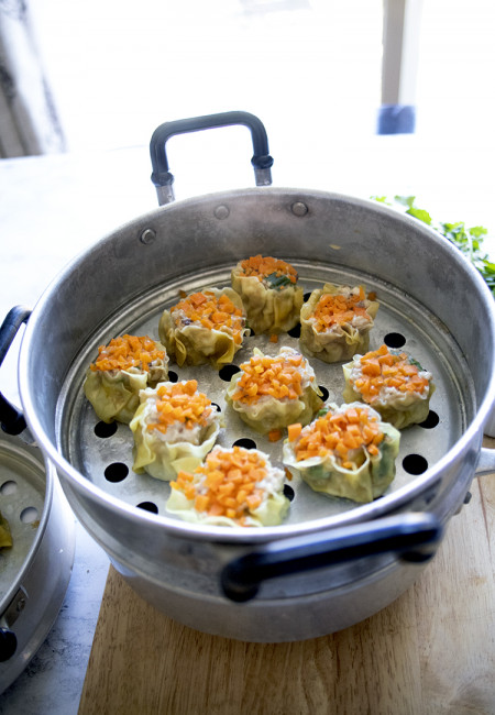 How do you make Shrimp and Chicken Shumai? I tell you, it is as easy as 1-2-3. In fact, I was hesitant to share this, because the recipe is very simple, I felt like it is irrelevant at all to measure the ingredients; so, I will just give you the basic of the recipe, BUT! You can actually eyeball it according to your liking, SO HERE IS THE RECIPE FOR THIS Shrimp and Chicken Shumai.
