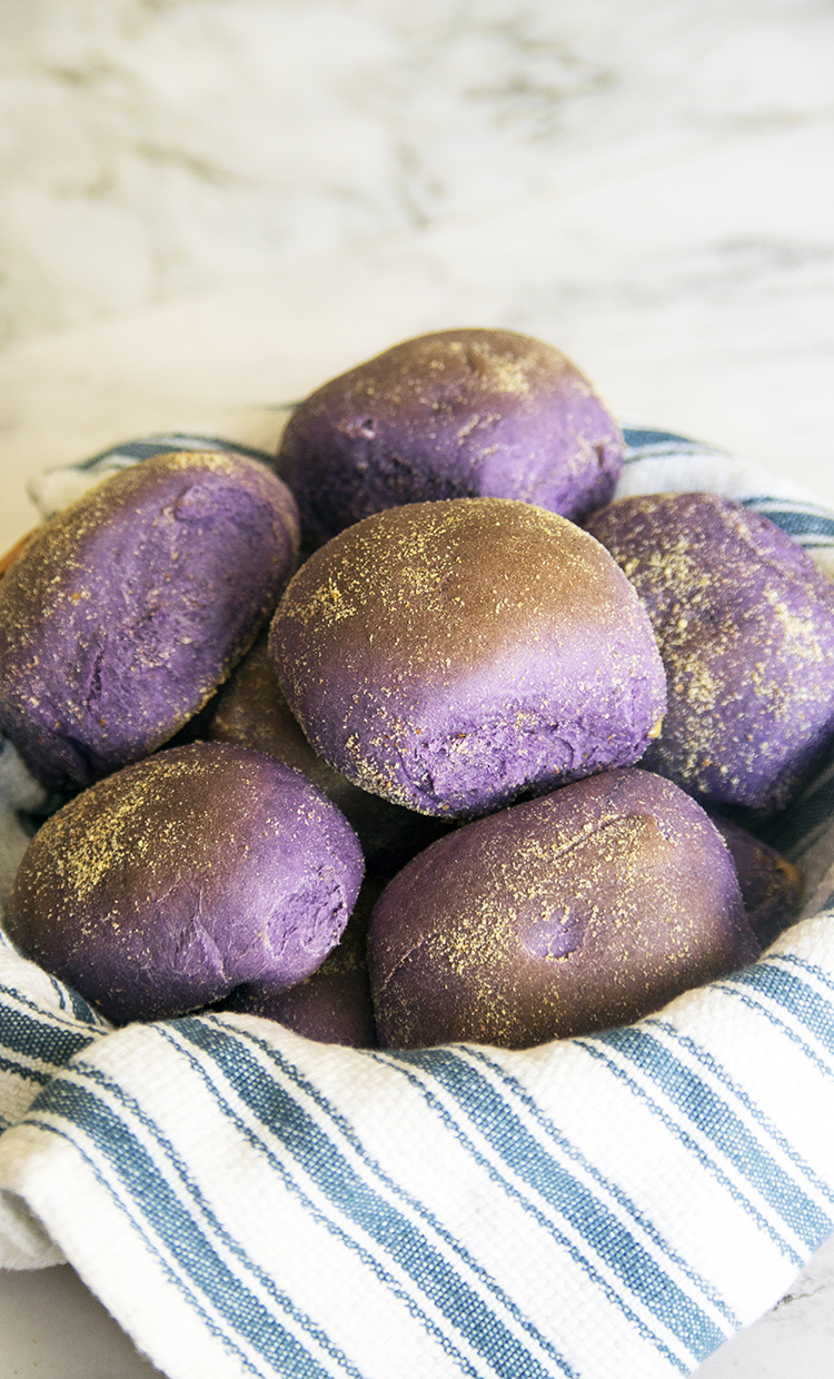 Soft, fluffy and surprisingly easy to make Ube Pandesal. I will show you how to make it, with this easy to understand recipe instructions.