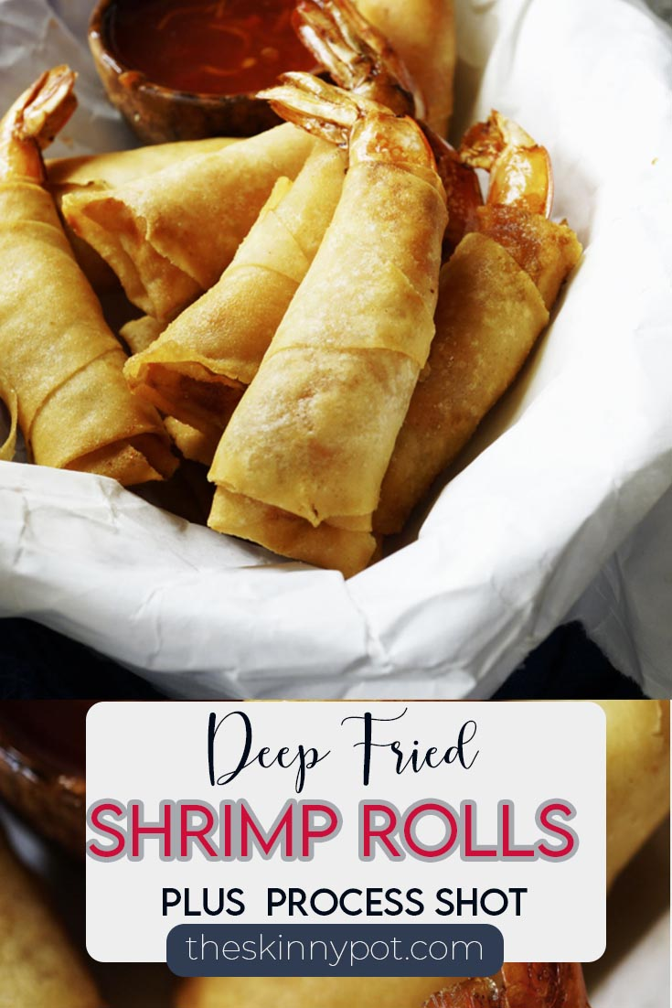 3 Ingredient Deep Fried Shrimp Rolls is on my list for Christmas dinner appetizer. Only only has 3 Ingredients, easy, delicious, freezeable.