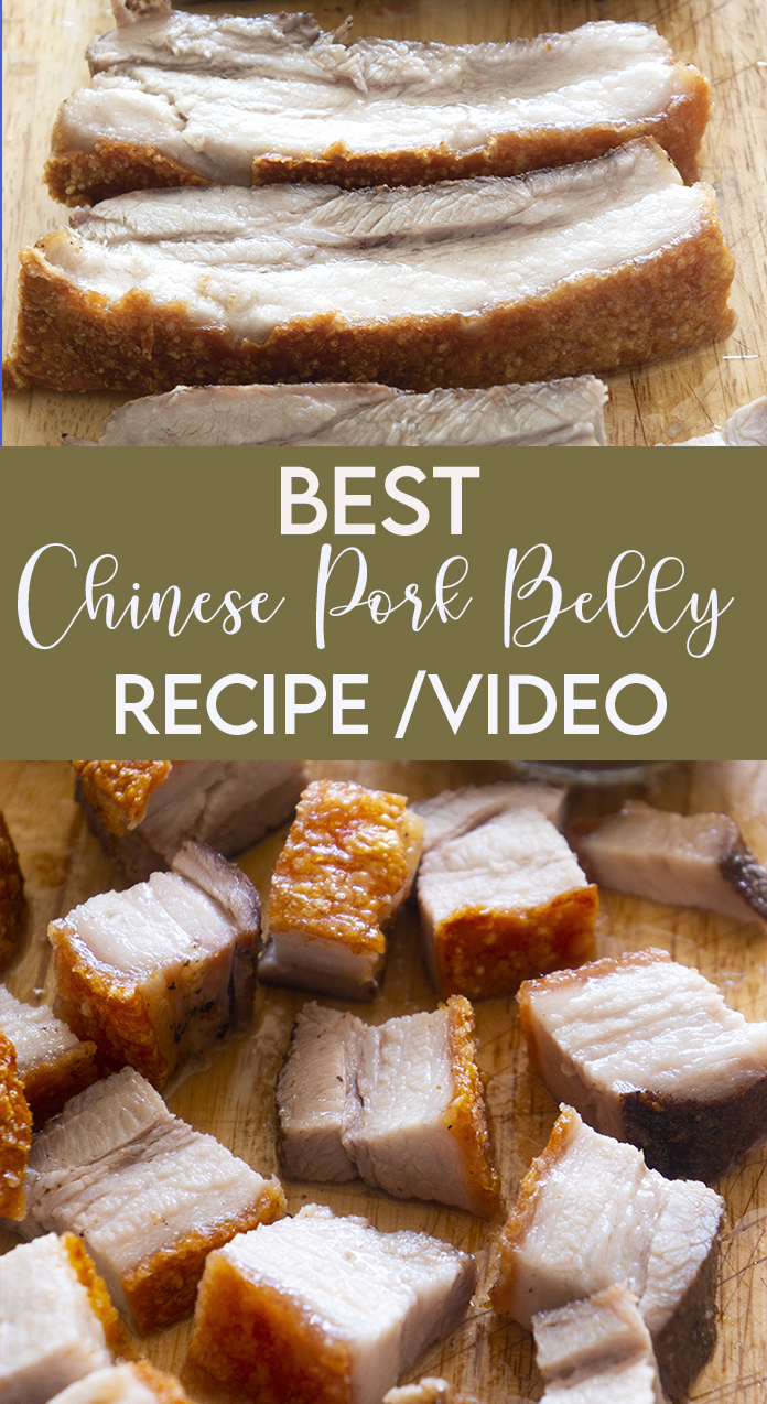 CHINESE PORK BELLY WITH BEST CRACKLES OF CRISPNESS