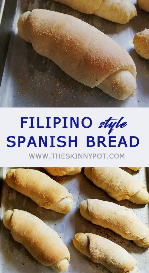 Soft and fluffy Spanish bread recipe and step by step video for your sure success. Easy list of ingredients that are pantry staples, guide on using them detailed instruction.