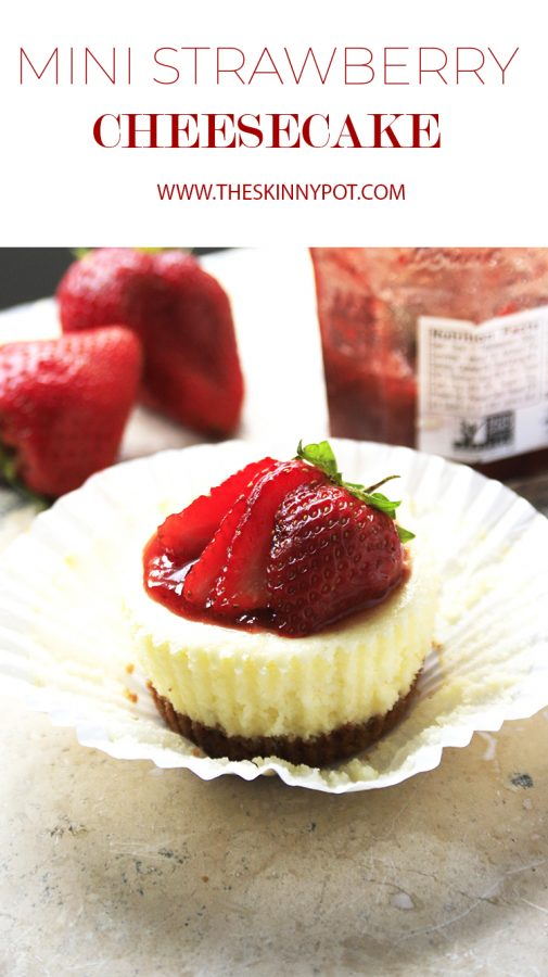 MINI STRAWBERRY CHEESECAKE- NON COMPLICATED RECIPE; easy cheesecake you can make in a whim. It's pretty, cute, creamy, soft and delicious. This is surely a hit!