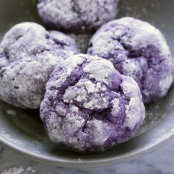 Ube Crinkles are a great twist to the traditional chocolate version of the holiday favorite. They are simply addicting and easy to prepare at home!