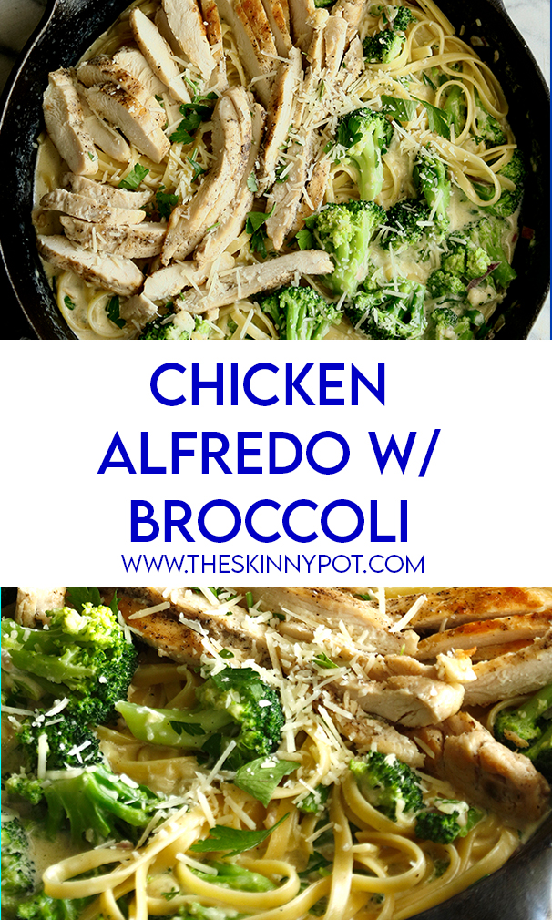 ONE POT CHICKEN ALFREDO