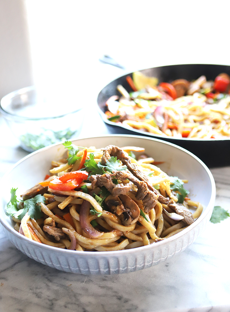 This Udon noodles recipe is easy and delicious meal for weeknight dinner. You can customize the flavor according to your liking. This is a surefire hit in your family and friends.