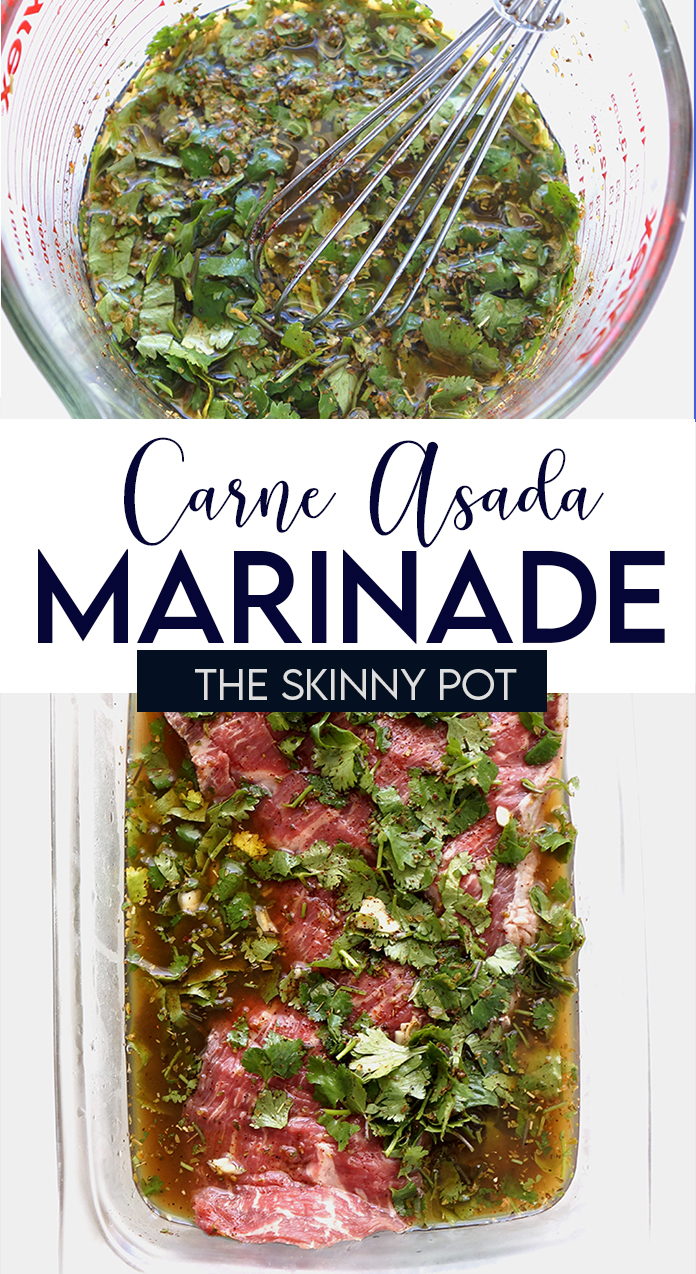 This CARNE ASADA MARINADE might be the only Carne Asada you need. It has all of the ingredients you need to make you meat tasty, tangy and just out of this world delicious.