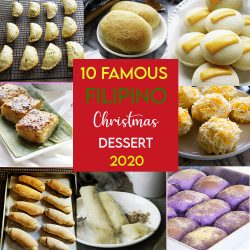 2020 Most  FAMOUS Filipino Dessert is the compilation of reader's favorite in The Skinny Pot blog.