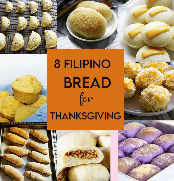 I am sharing with you this 8 Filipino Bread for Thanksgiving . They are always top on my Pinterest board and readers have tested and liked them.