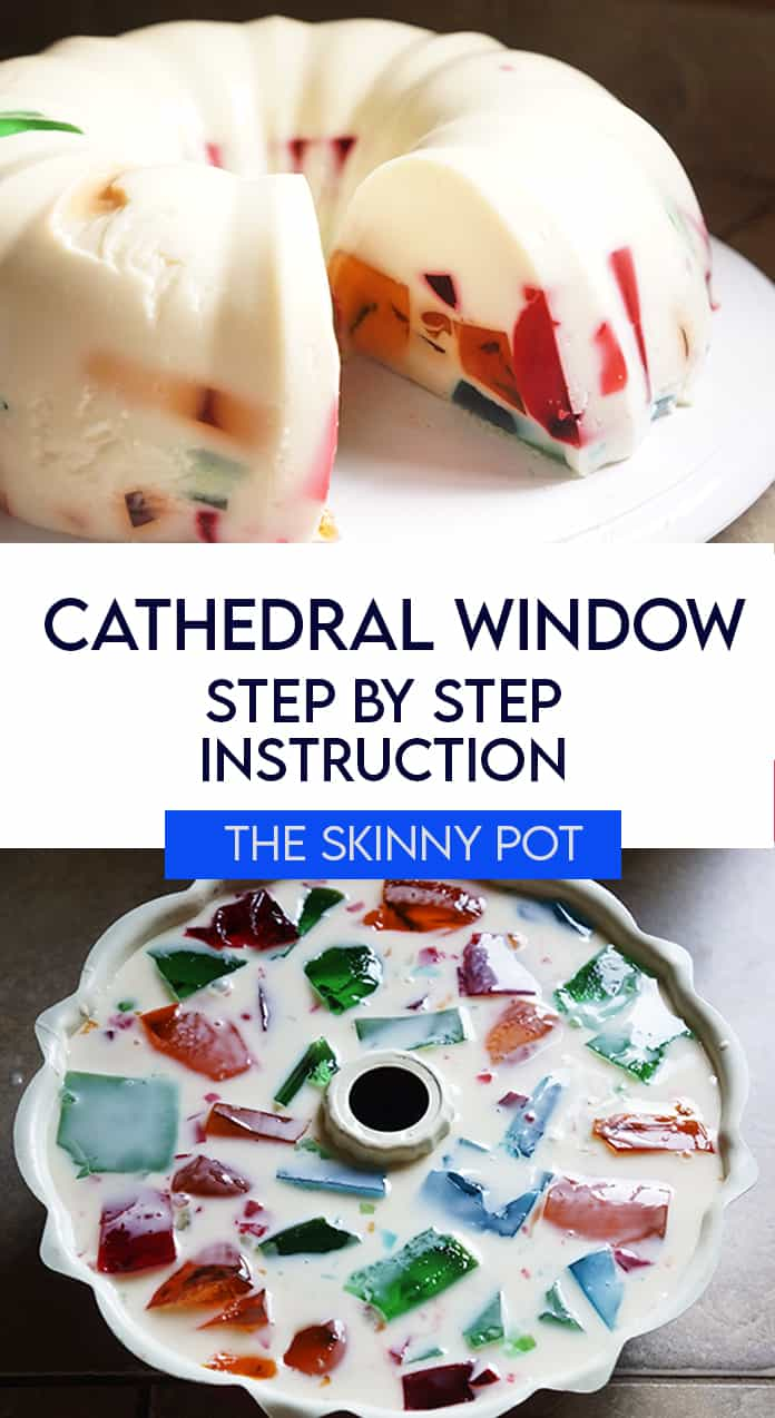 This Window Cathedral dessert will remind you of home. The creaminess, the jiggly sweetness and the colorful jelly bring back memories of laughter and Noche Buena and the hardcore partying , Filipino style.