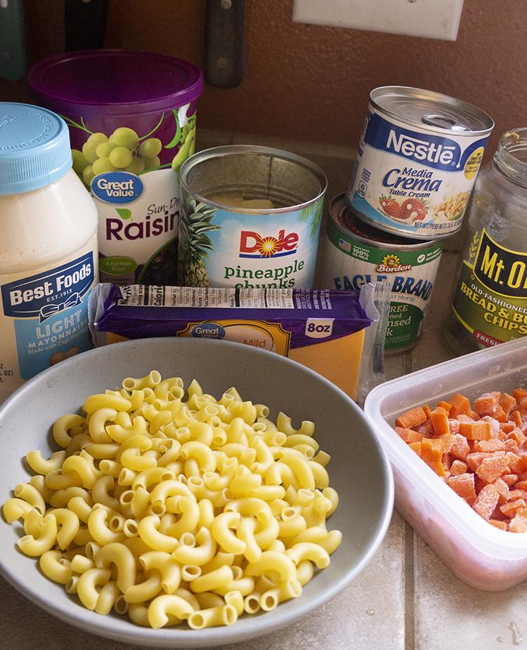 Chicken Macaroni Salad Ingredientslad