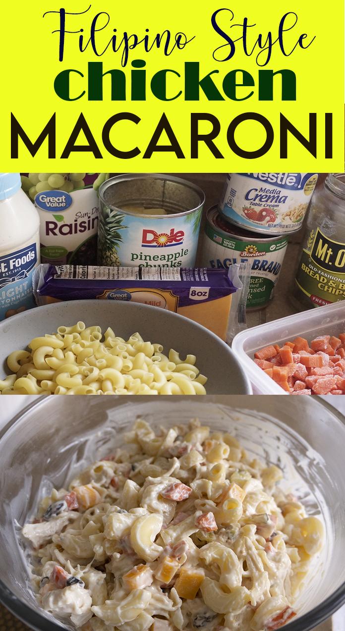 ilipino Style Chicken Macaroni