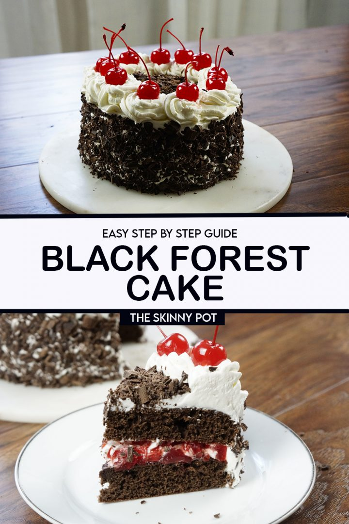 This Black Forest cake recipe will yield a soft and moist cake you'll surely love. You can make this for any occasion. Gift this as a birthday cake, or simply make this as dessert at home.