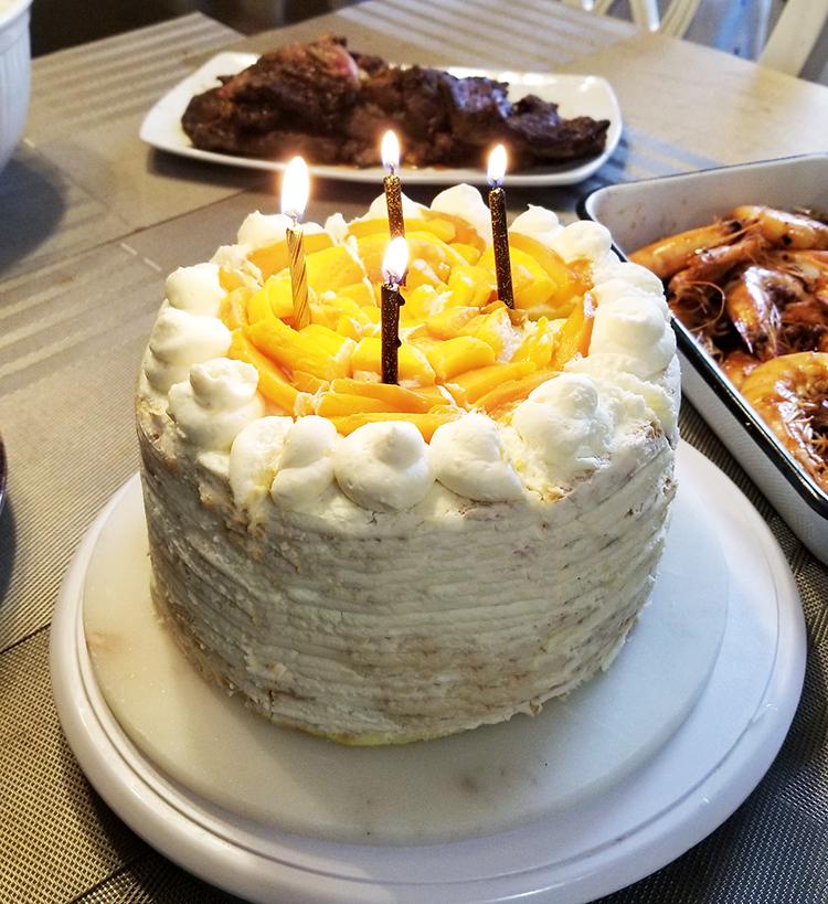 Mango Cake For my Daughter